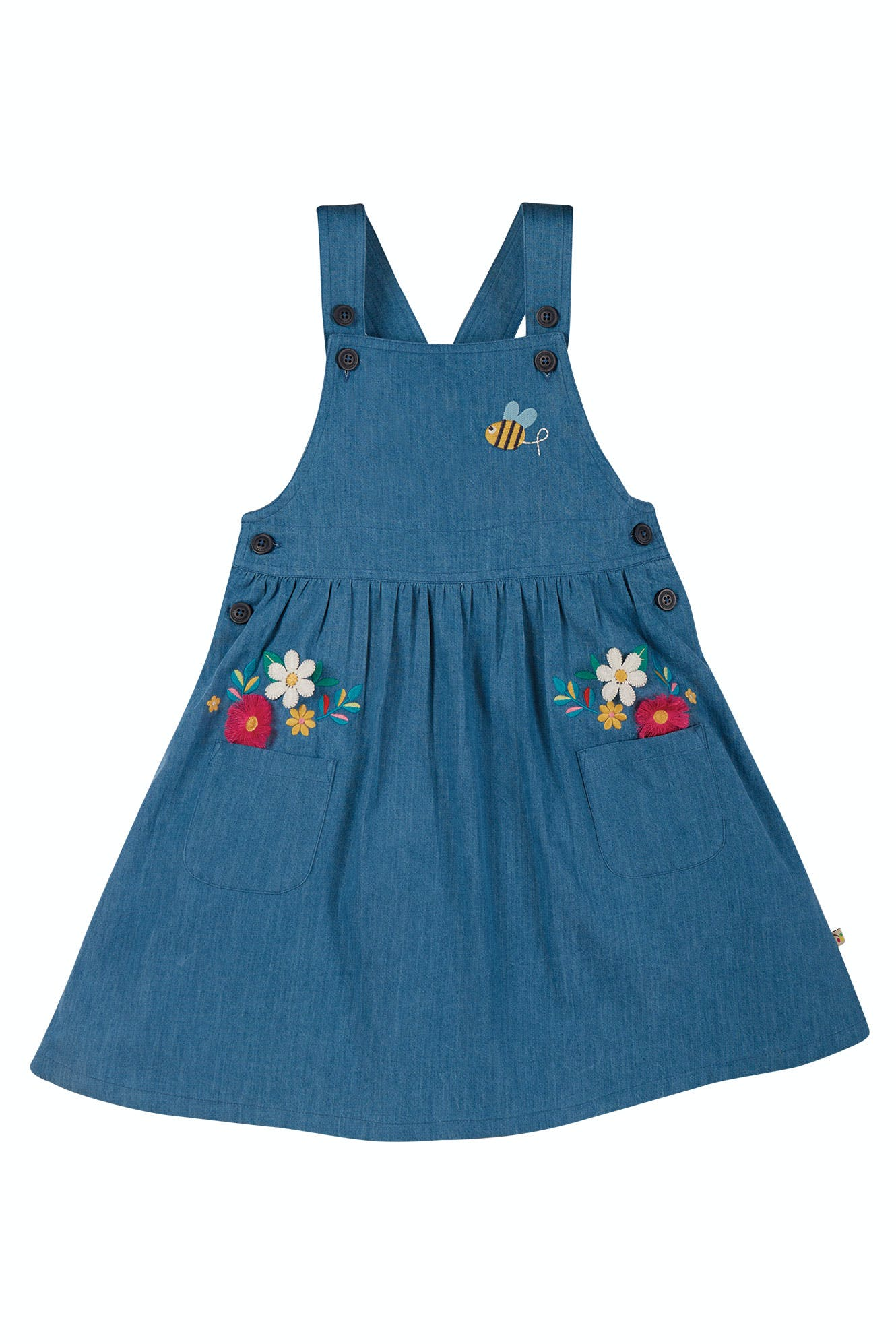 Click to view product details and reviews for Perfect Pocket Pinafore Dress.