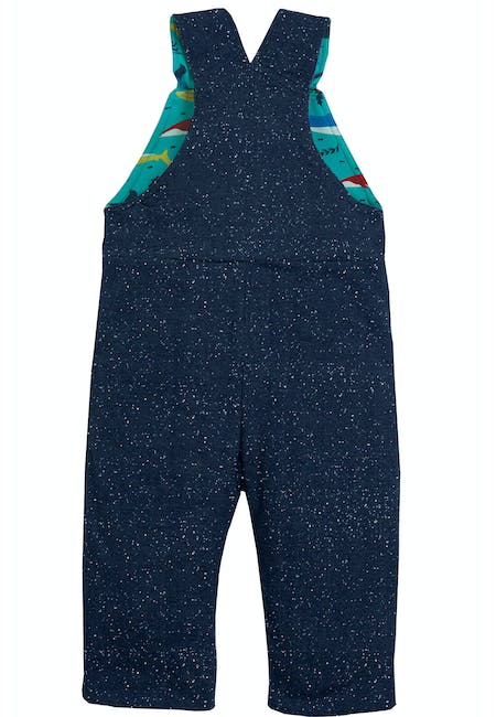Buy Reese Reversible Dungarees: 100% Organic Cotton | Frugi