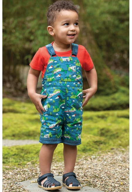 Buy Rory Reversible Dungarees: 100% Organic Cotton | Frugi