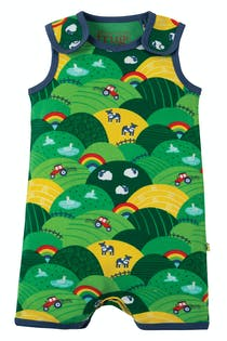 Lundy Printed Dungaree