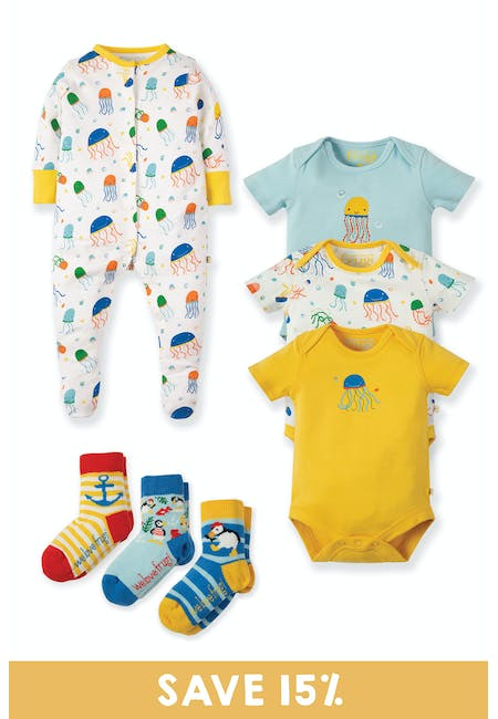 New Baby Gift Set: Welcome to the World Gift Set | Frugi