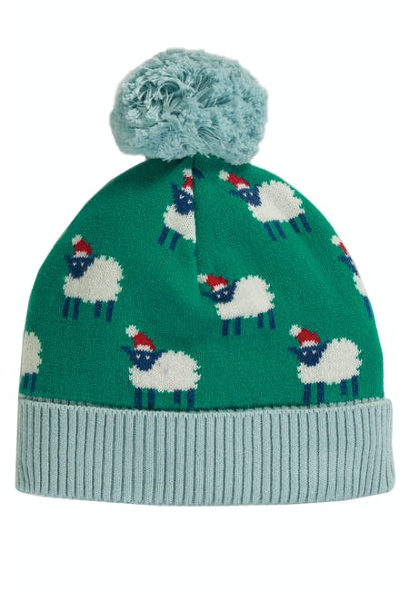 Icicle Intarsia Hat