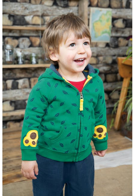 Buy Bear Hug Hoody: Made From Organic Cotton | Frugi