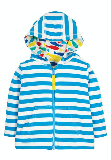 Reversible Towelling Hoody