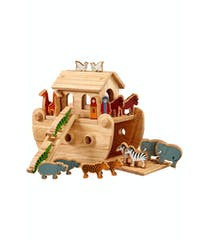 18 Piece Fair Trade Wooden Toy Set