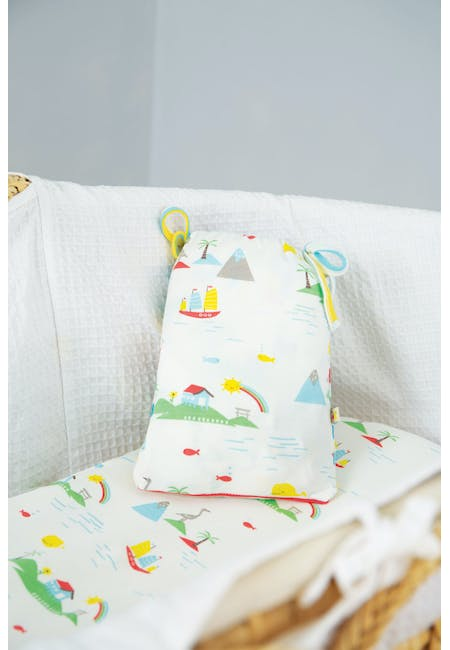 Cosy Moses Basket Sheets 2 Pack