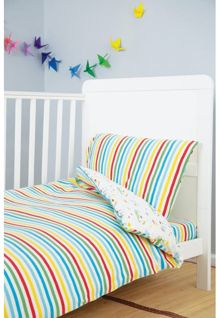 Cuddle-Up Jersey Cot Bed Duvet Set