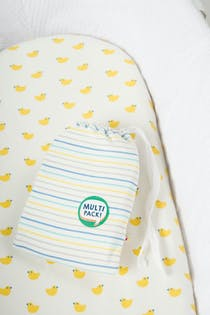 Cosy Moses Basket Sheets 2pk