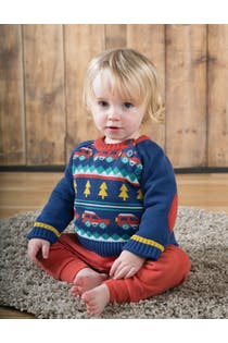 Little Finn Fairisle Jumper