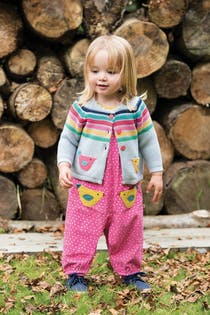 Maple Cord Dungaree