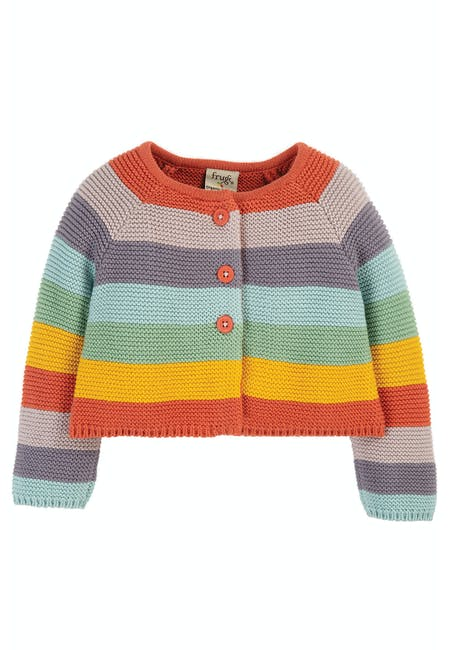 Buy Cute As A Button Cardigan: 100% Organic Cotton | Frugi
