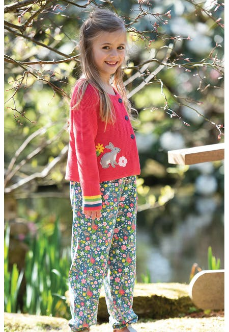 Buy Annie Applique Cardigan: 100%  Organic Cotton | Frugi