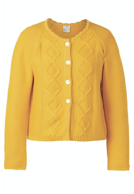 Clover Cable Knit Cardigan