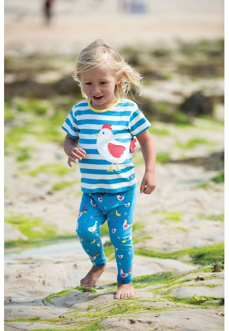 Buy Libby Printed Leggings: From Newborn to 4 Years | Frugi