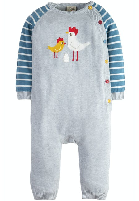 6569d7c92 Cosy Knitted Romper | Baby & Toddler Clothing Sale: Up To 60% Off | Frugi