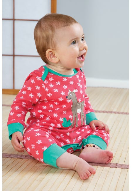 Buy Charlie Romper: Made From Organic Cotton | Frugi