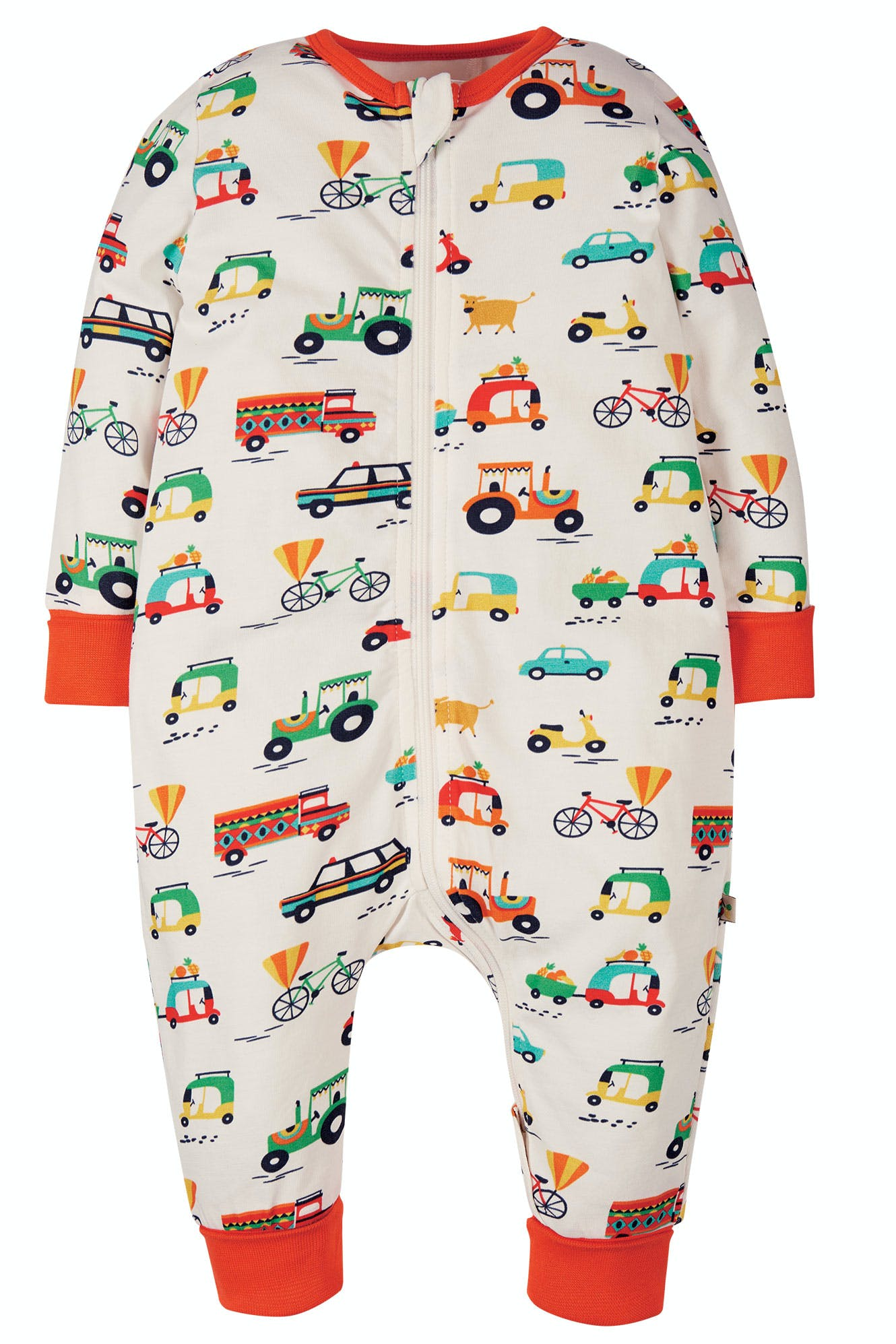 Click to view product details and reviews for Summer Zip Babygrow.