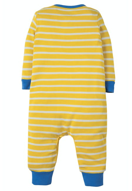 Buy Charlie Romper: Organic Cotton Interlock | Frugi