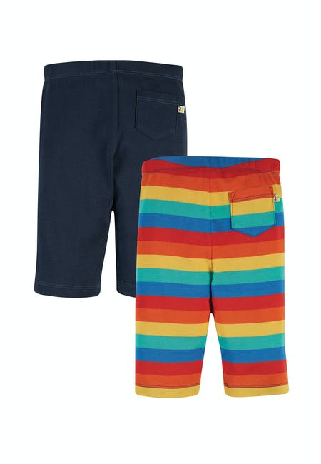 Laurie Rib Shorts 2 pack