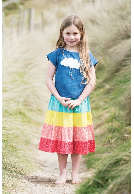 8be14c31f Dorothy Twirly Skirt | Over the Rainbow: Rainbow Patterned Kids ...