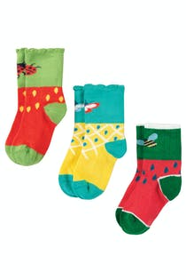 Little Tooty Socks 3 Pack
