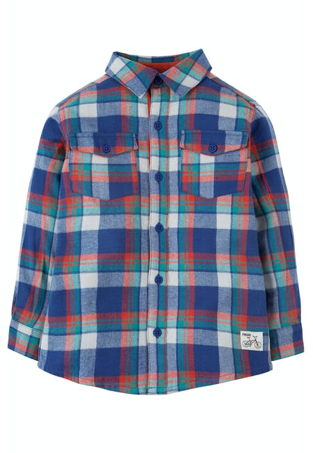 6961d6f23ee8 Hector Checked Shirt | tops & t-shirts | SS19 Sale - Kids | SS19 End of  Season Sale! | special features | Frugi