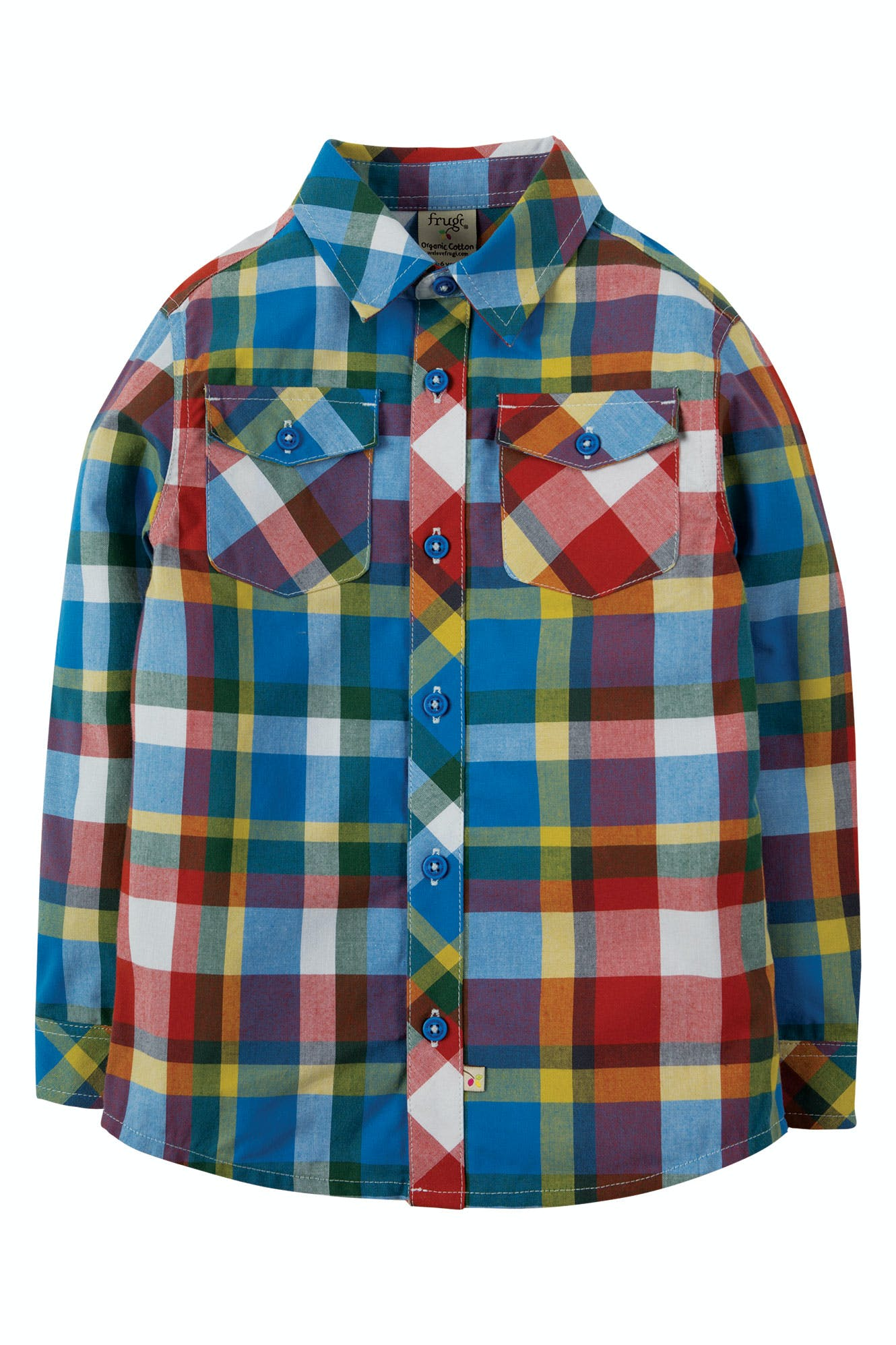 d5ec7927cb91 Hector Check Shirt | tops & t-shirts | SS19 Sale - Kids | SS19 End of  Season Sale! | special features | Frugi