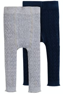 Cosy Cable Leggings 2pk