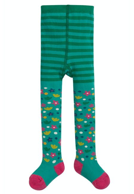 Buy Little Norah Tights: Made From Organic Cotton | Frugi