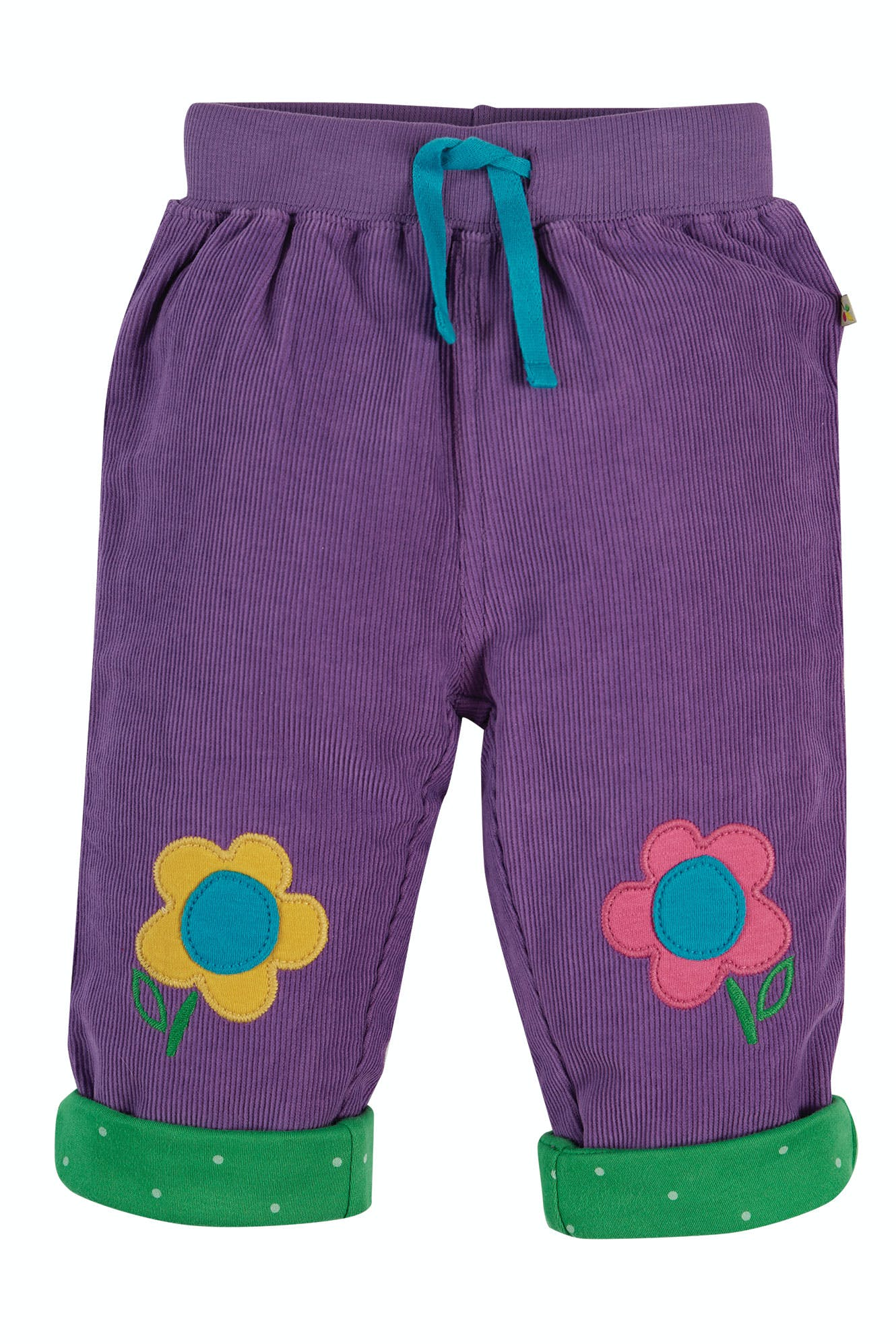 Click to view product details and reviews for Little Cord Patch Trousers.
