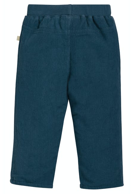 Little Cord Patch Trousers