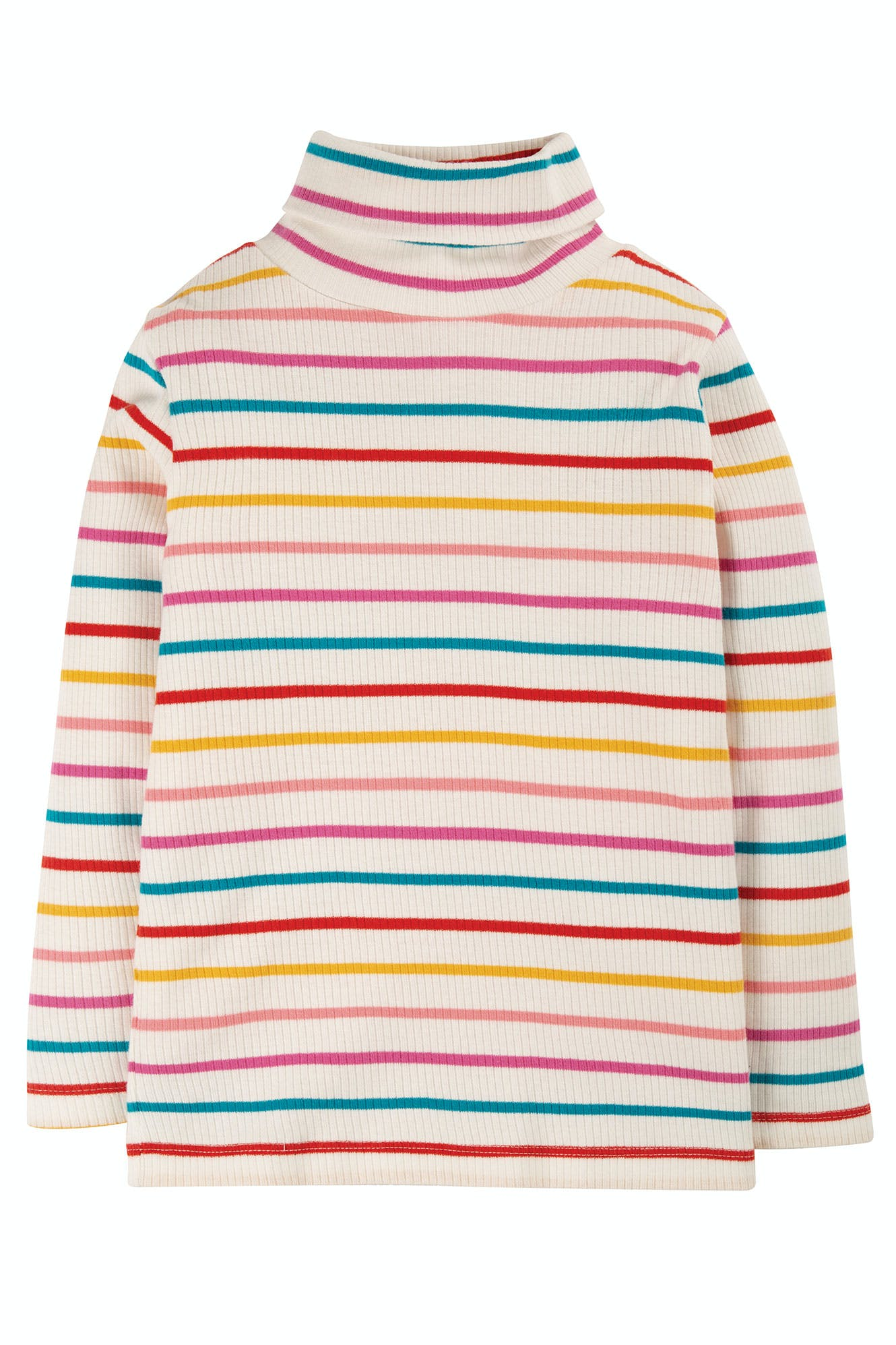 Click to view product details and reviews for Ava Stripe Roll Neck.