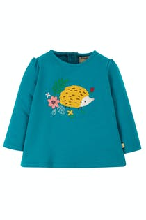 Little Alana Applique Top