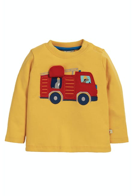 Buy Ira Interactive Applique Top | Frugi
