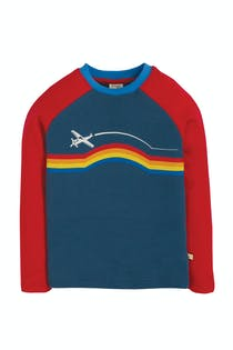 Rainbow Raglan Top