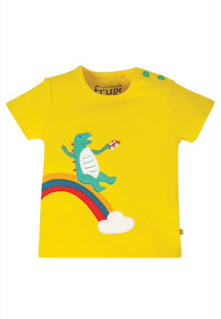 Buy Scout Applique Top: 100% Organic Cotton Interlock | Frugi