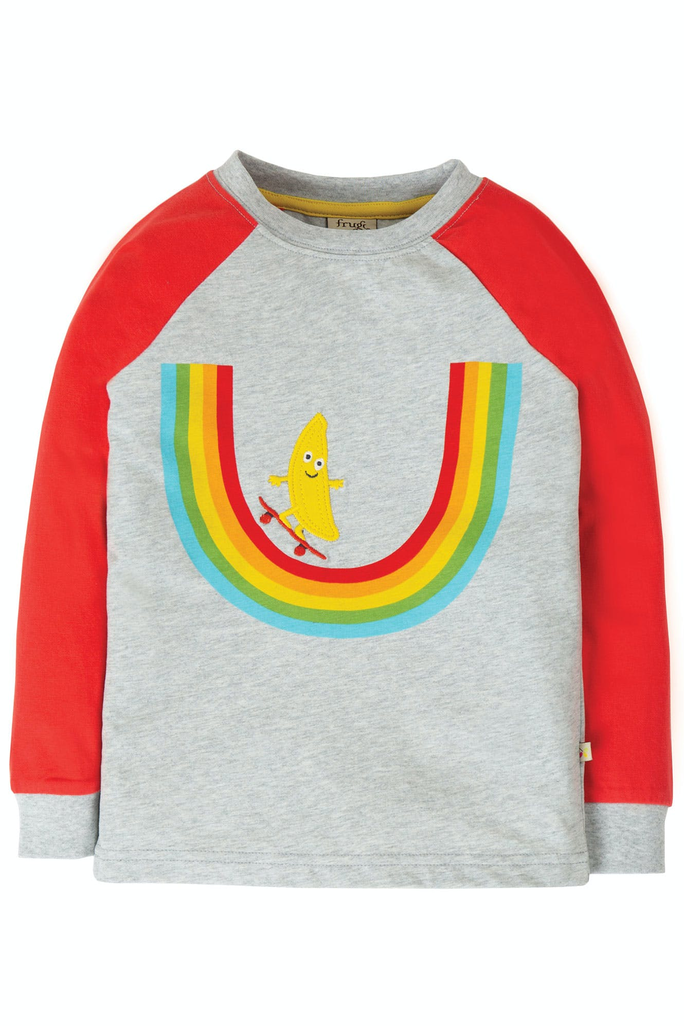 Click to view product details and reviews for Rainbow Raglan Top.