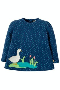 Connie Applique Top